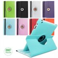 "360 Degree Rotation Smart Stand PU Leather Case Cover for iPad Pro 9.7"" [Dark Blue]"