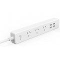 Aerocool ASA PowerStrip Australian 3 AC outlets and 4 USB high speed charging ports