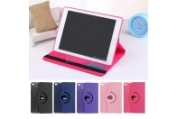 360 Rotating Stand Smart Rubber and Leather Case Cover For iPad Mini 4