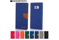 Goospery Canvas Flip Case for Samsung Galax S8 G950