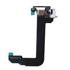 iPod Touch 6 Charging Port Flex Cable with Mic ,Home Button Cable and Handsfree Port [White]