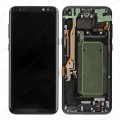 Samsung Galaxy S8 Plus LCD and Touch Screen Assembly With Frame [Black]