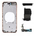 iPhone 8 Housing with Glass, Charging Port and Power volume Flex Cable [Gold]