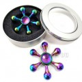 Rainbow Water Drop Fidget Spinner, Metal