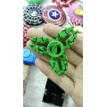 SpiderMan Crab Hand Spinner [Green]