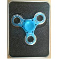 Fidget Spinner Metal[Blue]- High quality ball bearing