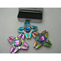 Rainbow Four Leaves Fidget Spinner, Metal- High quality ball bearing