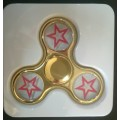 Electroplated Fidget Spinner Star [Gold]