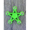 Five-pointed Star Fidget Spinner [Green]- High quality ball bearing