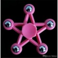 Five-pointed Star Fidget Spinner [Pink]- High quality ball bearing