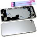 iPhone 7 Housing with Charging Port and Power Volume Flex Cable [Silver]
