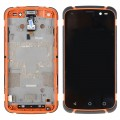 ZTE Tesltra Tough Max T84 LCD and Digitizer Touch Screen with Frame