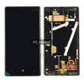 Nokia Lumia 930 LCD and Touch Screen Assembly with Frame [Black]