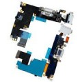 iPhone 6 Charging Port Flex Cable with Mic and Handsfree Port [White]