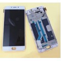 Oppo R9 LCD and Touch Screen with Frame Assembly [White][TFT Screen not OLED]