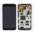 Motorola MOTO X 1+2 2nd GEN XT1092 LCD and touch screen with FRAME [Black]