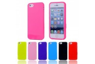 Soft TPU Rubber Jelly Gel Slim Phone Case for iPhone 5/5S