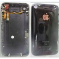 iPhone 3GS back cover with top flex and charging dock flex cable [Black]