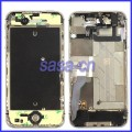 iPhone 4S middle frame assembly with flex cables and buttons