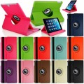 "360 Color Leather Case For iPad Air / iPad New 9.7"" [Black]"