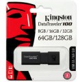 Kingston DT101G3/128GB    128GB USB 3.0 DataTraveler 101 Gen 3 (White)