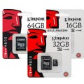 Kingston SDC10/16GB   16GB microSDHC Class 10 Secure DGTL Card
