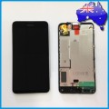 Nokia Lumia 630 635 LCD and Touch Screen Assembly with Frame