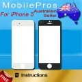 iPhone 5/5C/5S Front Glass [Black]