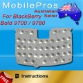 BlackBerry Bold 9700 9780 Keypad UI Sticker