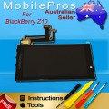 BlackBerry Z10 LCD and Touch Screen Assembly with frame [Black]