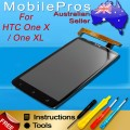 HTC One XL LCD and touch screen assembly [Sony Version]