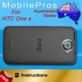 HTC One X back cover [Black]