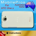 HTC One X back cover [White]