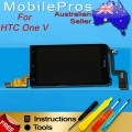 HTC One V LCD and Touch Screen Assembly