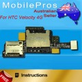 HTC Velocity 4G Sim Card Reader Flex Cable