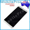 HTC One M7 LCD and Touch Screen Assembly with Silver Frame