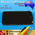 HTC One XL LCD and touch screen assembly with frame [Sharp Version]