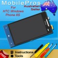 HTC 8S A620 LCD and touch screen assembly [Blue]