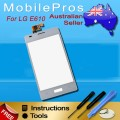 LG Optimus L5 E610 touch screen with frame [White]