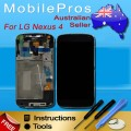 LG Nexus 4 E960 LCD and Touch Screen Assembly with Frame