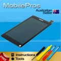 Nokia N9 LCD and touch screen assembly with frame [Black]