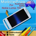 Nokia 700 LCD and Touch Screen Assembly [White]