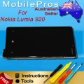 Nokia Lumia 920 LCD and Touch Screen Assembly with frame [black]