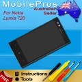 Nokia Lumia 720 LCD and Touch Screen Assembly [Black]
