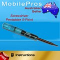 Screwdriver Pentalobe 5-point for iPhone 4 4S