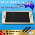 Samsung Galaxy S2 i9100 LCD and touch screen assembly with frame [White]