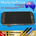 Samsung Galaxy S3 i9300 LCD and touch screen assembly with frame [Grey]