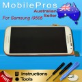 Samsung Galaxy S4 i9505 LCD and Touch Screen Assembly with Frame [White]