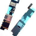 Samsung Galaxy Note 4 N910G Sim Card and Micro SD Card Slots Flex Cable