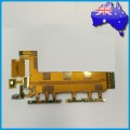 Sony Xperia Z3 Main Board Flex Cable with Side Buttons, Mic & Vibrator